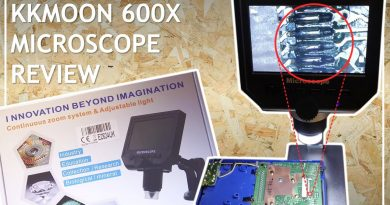KKMoon 600X Digital Microscope Review Magnifying Screen Soldering