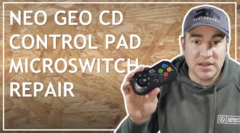 BEST Neo Geo CD Control Pad Repair | Controller Microswitch Part 2